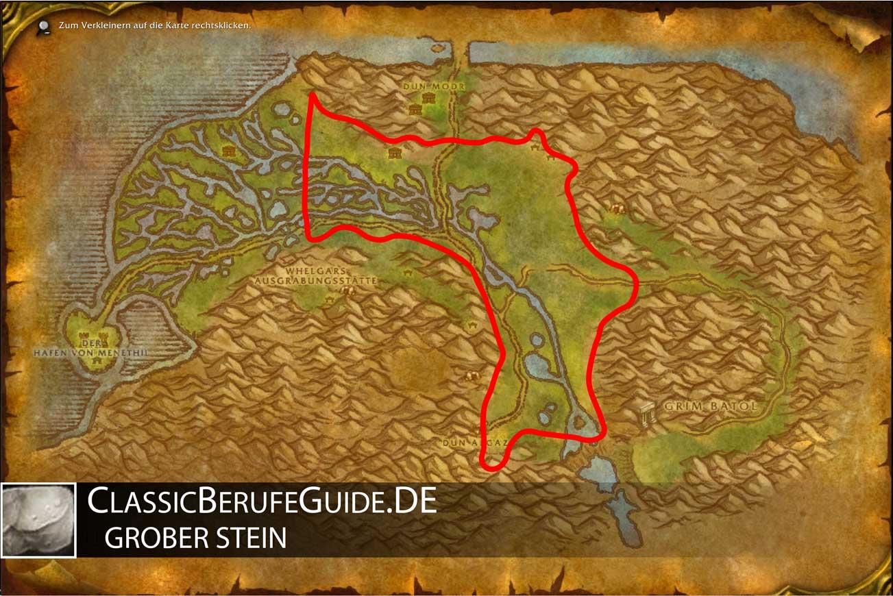 Wow-classic-Grober-stein-farmen-allianz-sumpfland